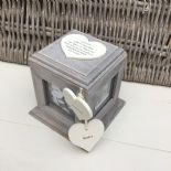 Shabby Chic PERSONALISED Rustic Wood Auntie Aunty Aunt Gift ANY NAME Photo Cube - 232995694025